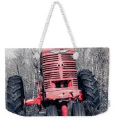 Old Farmall Farm Tractor Color Separation Nh Weekender Tote Bag