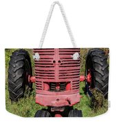 Old Farmall Vintage Tractor Springfield Nh Weekender Tote Bag