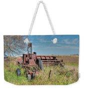 Old Hay Baler Weekender Tote Bag