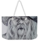 Old Man In A Hat  Weekender Tote Bag