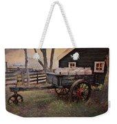 Old Milk Wagon Weekender Tote Bag