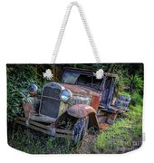 Old Model Aa Ford In The Jungle 2 Weekender Tote Bag