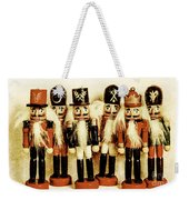 Old Nutcracker Brigade Weekender Tote Bag