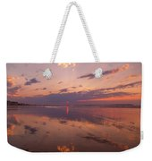 Old Orchard Beach Glorious Sunset Weekender Tote Bag