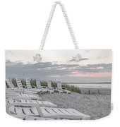 Old Orchard Beach Tranquil Morning Weekender Tote Bag