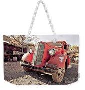 Old Red Truck Jerome Arizona Weekender Tote Bag