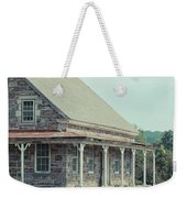 Old Stone Farm House Newbury Vermont Weekender Tote Bag