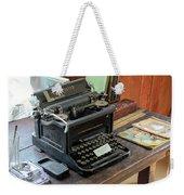 Old Style Texting Weekender Tote Bag