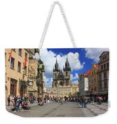 Old Town Square Prague Czech Republic  Weekender Tote Bag