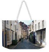 old town street in Hexham Weekender Tote Bag
