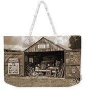 Oman's Garage Weekender Tote Bag