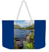 On A Lake Of Blue Weekender Tote Bag