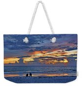 On A Quiet Beach With You Weekender Tote Bag