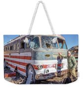 On Location Photographer Edward Fielding In Jerome Arizona Weekender Tote Bag