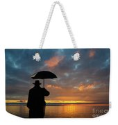 On The Edge Of Time Weekender Tote Bag