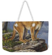 On The Hunt Weekender Tote Bag by Kim Lockman