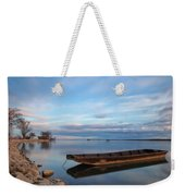 On The Shore Of The Lake Weekender Tote Bag