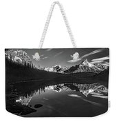 On The Trail Bw Weekender Tote Bag