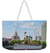 On The Waterfront - The Monitor - Philadelphia Weekender Tote Bag