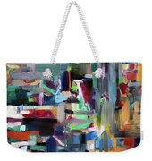 On The Way To Yerushalyim Weekender Tote Bag