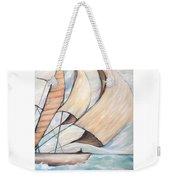 On The Wings Of A Dove Weekender Tote Bag