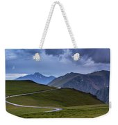 On Top Of The World Weekender Tote Bag by John De Bord