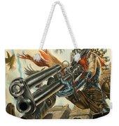 One Bullet, One Kill Weekender Tote Bag