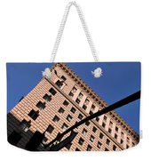 One Way Golden Architecture  Weekender Tote Bag