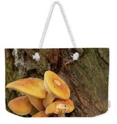 Orange Funghi Weekender Tote Bag by Scott Lyons