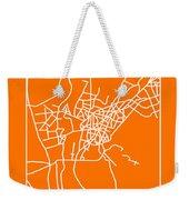 Orange Map Of Cairo Weekender Tote Bag