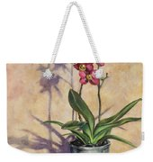 Orchids And Plums Weekender Tote Bag
