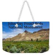 Oregon - John Day Fossil Beds National Monument Sheep Rock 1 Weekender Tote Bag
