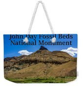 Oregon - John Day Fossil Beds National Monument Sheep Rock 2 Weekender Tote Bag