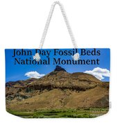 Oregon - John Day Fossil Beds National Monument Sheep Rock 2 Weekender Tote Bag