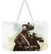 Organ Grinder Weekender Tote Bag by Clint Hansen