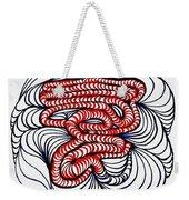 Organic Maze Weekender Tote Bag