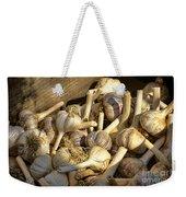 Organic Garlic Weekender Tote Bag
