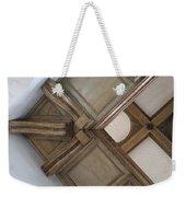 Wood Ornament Weekender Tote Bag