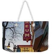 Orpheum Theater Madison, Alice Cooper Headlining Weekender Tote Bag