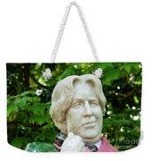 Oscar Wilde Statue One  Weekender Tote Bag
