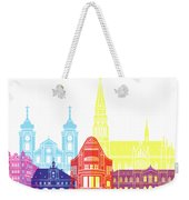 Osijek Skyline Pop Weekender Tote Bag