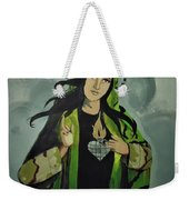 Our Lady Of Veteran Suicide Weekender Tote Bag by MB Dallocchio