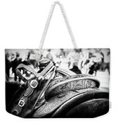 Out Of The Saddle Weekender Tote Bag
