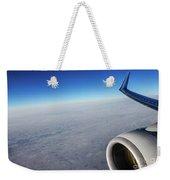 Over The Sky Weekender Tote Bag