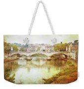 Over The Tiber Weekender Tote Bag