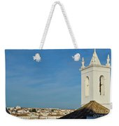Overview Of Tavira City. Portugal Weekender Tote Bag