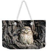 Owl In A Tree Weekender Tote Bag