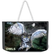 Owls Mascot 2 Weekender Tote Bag
