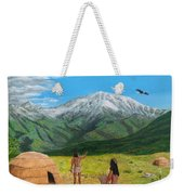 Paauw Snow Weekender Tote Bag by Kevin Daly
