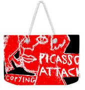 Pablo Picasso Attack 6 Weekender Tote Bag